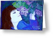 Lush Lilacs Greeting Card