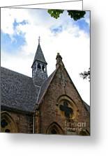Luss Church Steeple Greeting Card