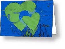 Luv-2 Greeting Card by Dorothy Rafferty
