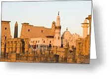 Luxor Entrance Greeting Card