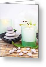 Luxury Spa Resort Greeting Card