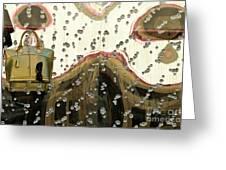 Lv Gold Bag 03 Greeting Card