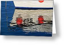 Lyme Regis Harbour - December Greeting Card