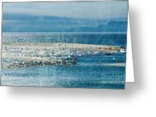 Lyme Regis Under Glass Greeting Card