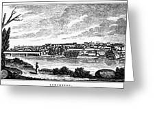 Lynchburg, Virginia, 1856 Greeting Card