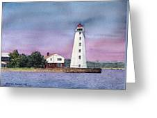 Lynde Point Lighthouse Greeting Card