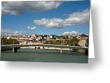 Lyon View Greeting Card