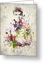 Lyoto Machida Greeting Card