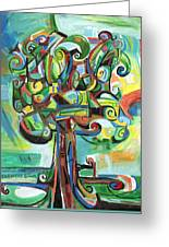 Lyrical Tree Greeting Card