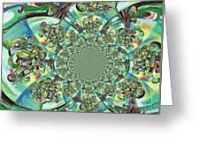 Lyrical Tree Mandela Greeting Card