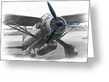 Lysander In Readiness Greeting Card