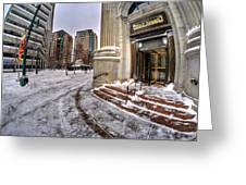 M And T Bank Downtown Buffalo Ny 2014 Greeting Card