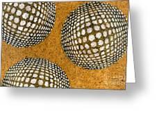 M U M 2 - Bulge Dots Greeting Card