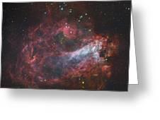 M17, The Omega Nebula In Sagittarius Greeting Card
