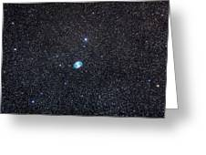 M27, The Dumbbell Nebula Greeting Card