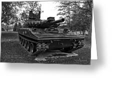 M551a1 Sheridan Tank Greeting Card