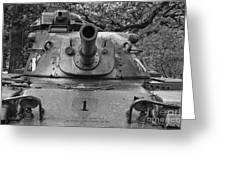 M60 Patton Tank Turret Greeting Card