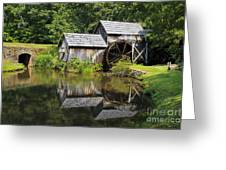Mabry Mill Greeting Card