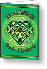 Macaleese Soul Of Ireland Greeting Card