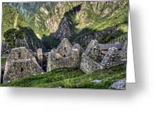 Macchu Picchu - Peru - South America Greeting Card