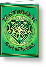 Maccormack Soul Of Ireland Greeting Card