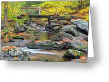 Macedonia Brook Square Greeting Card