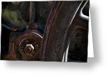 Mechanical Pareidolia  Greeting Card