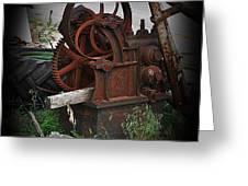 Machine No. 243 Greeting Card