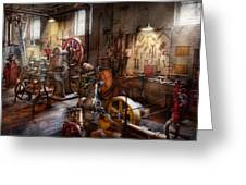 Machinist - A Room Full Of Memories  Greeting Card