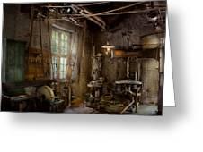 Machinist - Industrial Revolution Greeting Card