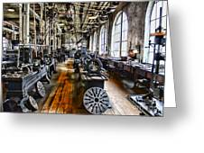 Machinist - Precision Matters Greeting Card by Paul Ward