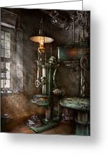Machinist - Where Inventions Are Born Greeting Card