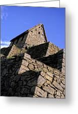 Machu Picchu Hut Peru Greeting Card