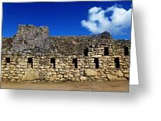 Machu Picchu Peru 13 Greeting Card