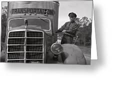 Mack Truck  1943 Greeting Card