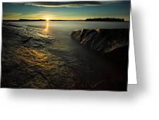 Mackenzie Point September Sunrize Greeting Card