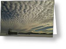 Mackerel Sky Greeting Card