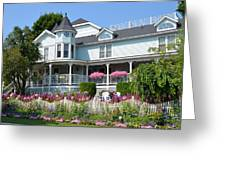 Mackinac Island Hospital Greeting Card