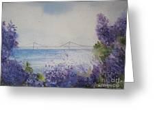Mackinac Island Lilacs Greeting Card