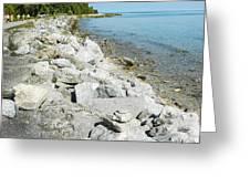 Mackinac Island Race Greeting Card