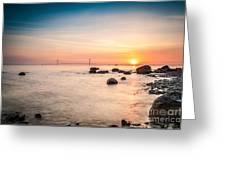 Mackinac Sunrise Greeting Card