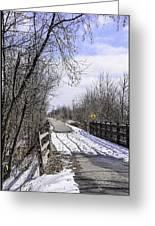 Macomb Orchard Trail Greeting Card