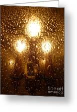 Macro Lights Greeting Card