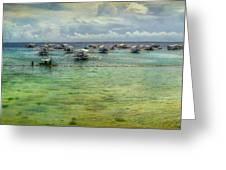 Mactan Island Bay Greeting Card