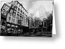 Macys At Broadway And 34th Street Herald Square New York City Greeting Card by Joe Fox