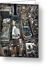 Macy's From Above Greeting Card