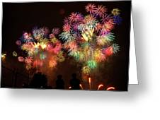 Macy's July 4th Fireworks New York City  Greeting Card