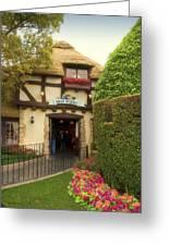 Mad Hatter Fantasyland Disneyland 01 Greeting Card