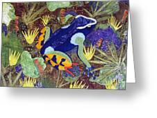 Madagascar Mantella Greeting Card by Lynda K Boardman