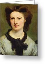 Madame Charles Garnier Greeting Card